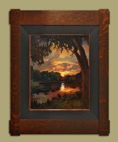 """Evening by the Pond"" 