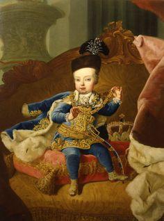 International Portrait Gallery: Retrato del Archiduque Josef II de Austria-Lorena