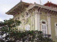Pesaro, Villa Ruggeri Palaces, Monuments, Villa, Art Nouveau Architecture, Interesting History, Construction, Facade, Mansions, House Styles