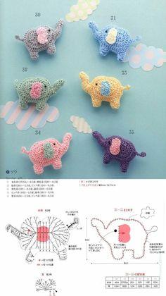 Octopus Crochet Pattern, Crochet Animal Patterns, Crochet Patterns Amigurumi, Crochet Dolls, Crochet Diagram, Crochet Motif, Crochet Designs, Crochet Flowers, Cute Crochet