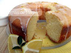 Biscochuelo de limón ~ Aromas de Mamá   Recetas de Cocina   aromasdemama.com