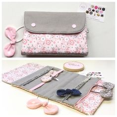 Starting thinking of Christmas gift ideas. The case to organize all your hair accessories. This could be the perfect gift for your daughter, her best friend, your friends .... #23gobyflo #handmade #handmadeaccessory  #case #hairclip #pink #lightpink #gray #flowers #denim #girl #giftideas #christmas #christmasgift #travelaccessory  #handmadeaccessory