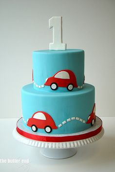 Baby car cake - The Butter End Cakery