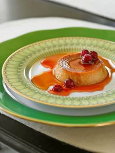 Sweet Potato Flan wi