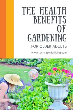 Starting a garden is good for your health!