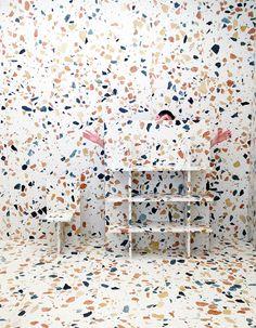 For more inspiration Follow on Instagram THEGYPSETTER Max Lamb show for Dzek #sightunseen