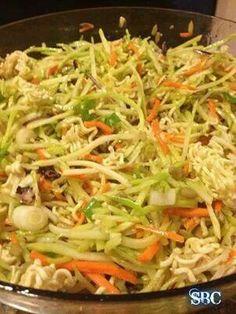 Ramin. Noodle broccoli salad