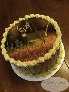 Deer Hunting Cake Deer Hunting Cake Pinterest