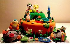 Dierentuin taart