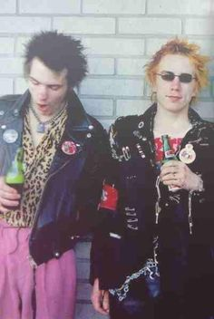 Sid Vicious & Johnny Rotten