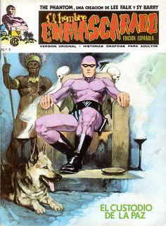 021-El Hombre Enmascarado Vol 1 no1- Ediciones Vertice-portada