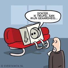 De leukste 'komt een man bij de dokter'-grappen van Evert Kwok