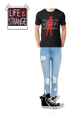 """""""life is strange outfit 1"""" by gryffindorbrony ❤ liked on Polyvore featuring Converse"""