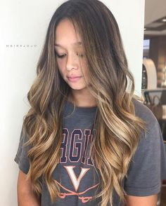 B O M B - B R E ✨ this girls got the most hair out of all my clients! Def put my back into this balayage // #HAIRXJOJO #HAIRBYJOANNECHUNG