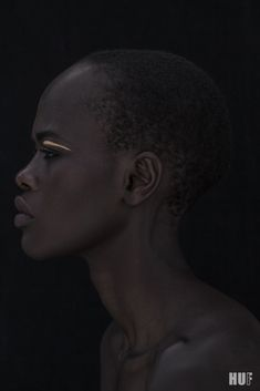 Kenyan model Naro Lokuruka features in a new campaign for HUF Magazine in an…