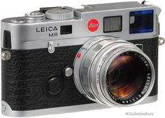 if i went back to film, this would be the camera: lecia m6