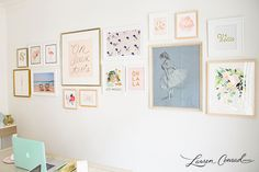Gallery Wall by Laur