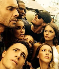 """What?"" Arrow cast at Comic-Con"