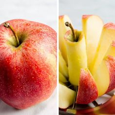 one serving apples