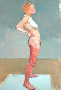 Euan Uglow (1932-2000) was a British painter, famous for his nude and still life paintings.