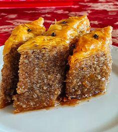 ΜΑΓΕΙΡΙΚΗ ΚΑΙ ΣΥΝΤΑΓΕΣ 2: Μπακλαβάς Κύμης από την γιαγιά !!! Greek Desserts, Greek Recipes, Cheesesteak, Meatloaf, French Toast, Muffin, Cooking Recipes, Sweets, Breakfast
