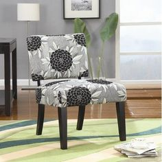 Toyah Flower Print Accent Chair by Wildon Home, http://www.amazon.com/dp/B006ECRJ8Y/ref=cm_sw_r_pi_dp_4TJyqb0397SSS