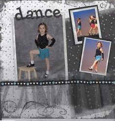Image detail for -Music and Dance Scrapbook Pages: Group Performance Photos with a ...