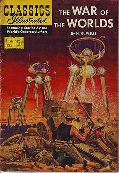 Classics Illustrated 124 - The War of the Worlds