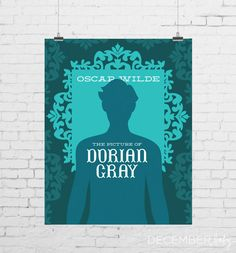 DIGITAL PRINT  The Picture of Dorian Gray by decemberbabydesigns