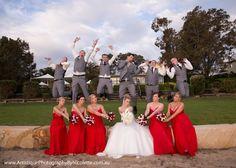 Spring wedding at Raffertys Mercure Resort.