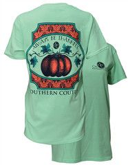 Southern Couture Country Deer Girlie Bright T-Shirt | SimplyCuteTees