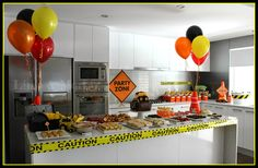 Image result for ball pit for construction party