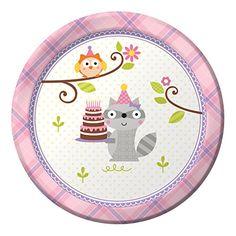 Creative Converting 8 Count Paper Dessert Plates, Happi Woodland-Girl Creative Converting http://www.amazon.com/dp/B00M87NTG0/ref=cm_sw_r_pi_dp_ojWdvb047A3RW