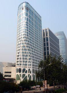 MAD architects: conrad hotel, beijing