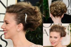 Scarlett Johansson - Best, celebrity, updo, updos, up, do, hair, hairstyle, hairstyles, hairdos, a-list, inspiration, red carpet, party, wed...