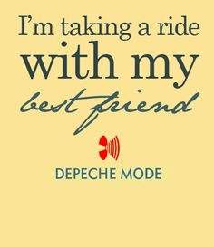 Never let me down again (Music for the Masses - Depeche Mode) ...possibly in my top 10 of favorite songs