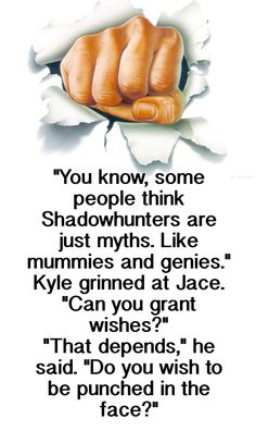 Jace Herondale and Jordan Kyle Lol this is too funny!