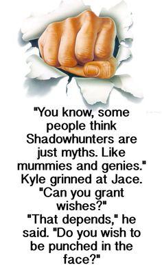 Jace Herondale and Jordan Kyle