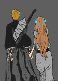 Bleach// Ichigo and Orihime