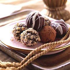 Hazelnut Truffles!!!  Um, enough said, YUM!