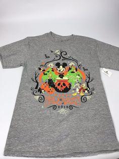 ec6b6ee6 NEW 2018 Mickey's Not So Scary Halloween Party LOGO T-Shirt Unisex Small |  eBay