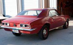 Raffle Prize: 1968 Chevrolet Camaro - http://www.barnfinds.com/raffle-prize-1968-chevrolet-camaro/