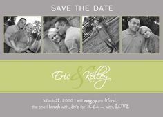 Save the Date, but with navy background?