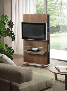 Bookcase Tv Stand, Tv Wall Shelves, Tv Stand Shelves, Shelf, Living Room Tv, Interior Design Living Room, Tv Stand Room Divider, Swivel Tv Stand, Tv Furniture