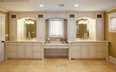 classic bathroom cabinets ideas - Google Search