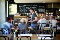 DOC - located in Mornington this is the hip and happening place on the Mornington Peninsula for authentic Italian ambience, food and wine. Shop in their attached store or just drink coffee and watch the world go by. Pubs And Restaurants, Wine Food, Favourite Pizza, Good Pizza, Cool Bars, Coffee Drinks, Wine Recipes, Melbourne, Small Hotels
