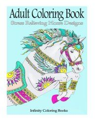 10 Horse Coloring Books for Adults