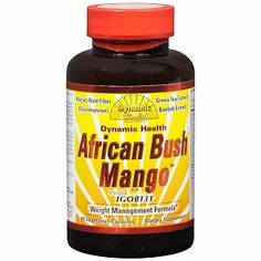 I'm learning all about Dynamic Health African Bush Mango with Irvingia at @Influenster!