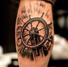 Tatuajes de veleros y barcos
