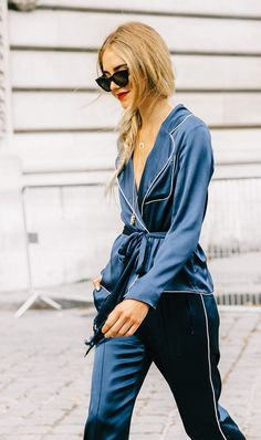 Pajama Trend at Paris Fashion Week
